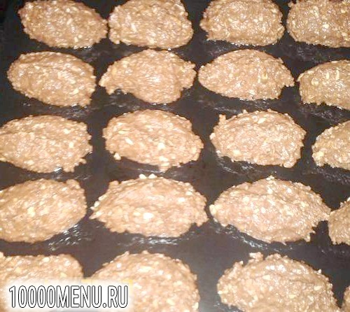 Фото - Вівсяне печиво з какао - фото 3 кроки