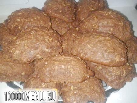 Фото - Вівсяне печиво з какао - фото 4 кроки