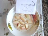 Як приготувати вівсяну кашу з інжировим персиком - рецепт