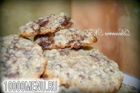 Фото - Печиво з вівсяними пластівцями - фото 3 кроки