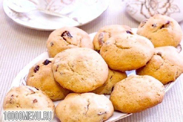 Фото - Печиво з сушеним інжиром і журавлиною - фото 5 кроку