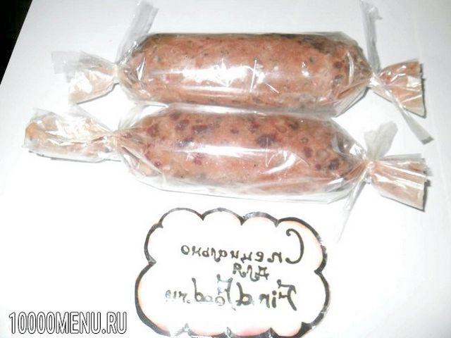 Фото - Печінкова ковбаса - фото 4 кроки