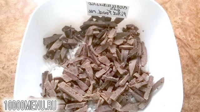 Фото - Печінковий салат з маринованою цибулею - фото 4 кроки