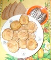 Як приготувати печену картопельку з салом - рецепт