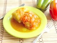 Як приготувати перець з м'ясом в томатному соусі - рецепт