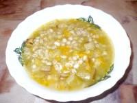Як приготувати перловий суп з баклажанами - рецепт