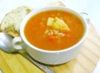 Як приготувати перловий томатний суп - рецепт