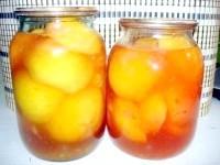 Як приготувати персики в сиропі - рецепт