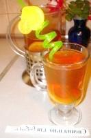 Як приготувати персиковий чай з лимоном - рецепт