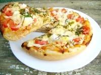 Як приготувати піцу з куркою та перепелиними яйцями в мультиварці - рецепт