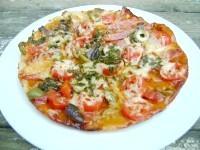 Як приготувати піцу з салямі і печерицями в мультиварці - рецепт