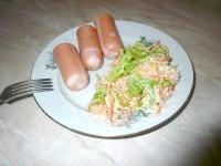 Як приготувати пікантний салатик за п'ять хвилин - рецепт