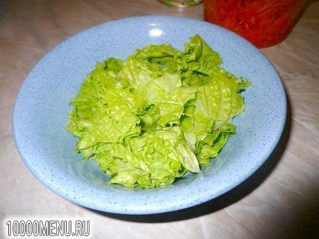 Фото - Пікантний салатик за п'ять хвилин - фото 2 кроки