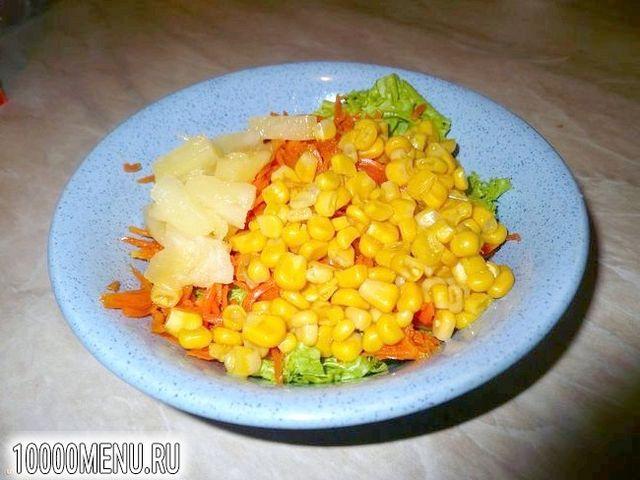 Фото - Пікантний салатик за п'ять хвилин - фото 3 кроки