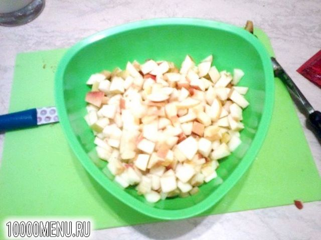 Фото - Пиріг з яблуками - фото 3 кроки