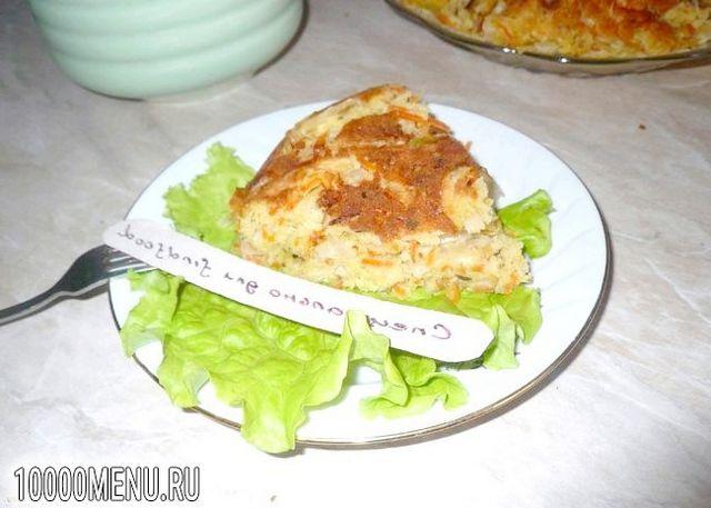 Фото - Пиріг з капустою і морквою - фото 10 кроку