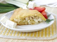 Як приготувати пиріг з куркою і картоплею - рецепт