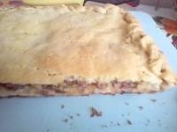 Як приготувати пиріг з м'ясом і картоплею - рецепт