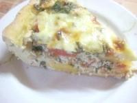 Як приготувати пиріг-суфле з помідорами - рецепт