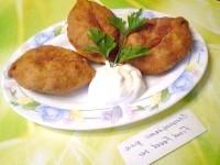 Як приготувати пиріжки з картоплею та печінкою - рецепт