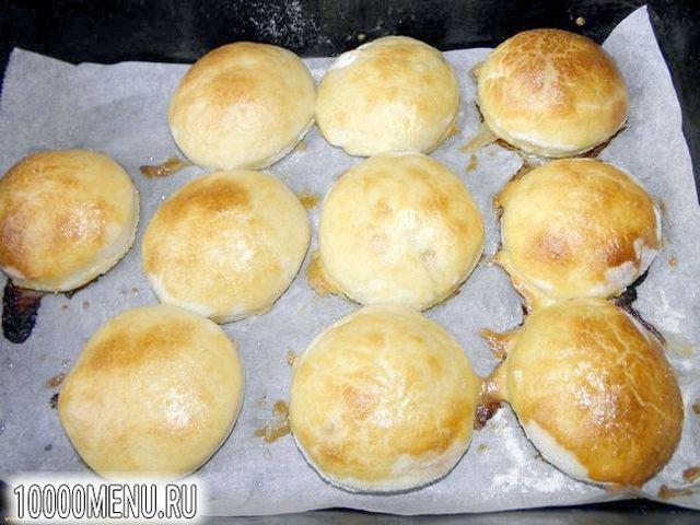 Фото - Пиріжки з куркою і грибами - фото 10 кроку