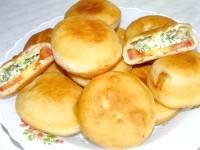 Як приготувати пиріжки з сиром - рецепт