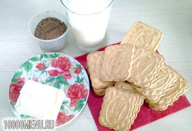 Фото - Тістечко картопля з печива - фото 1 кроку