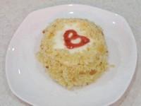 Як приготувати тістечко сердечко - рецепт