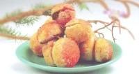 Як приготувати тістечка персики? рецепт приготування