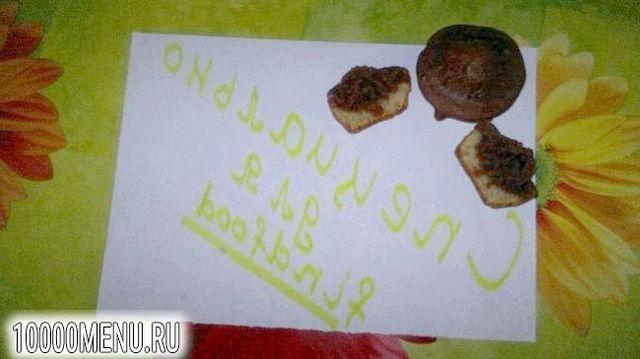 Фото - Смугасті кекси в кексопечке - фото 7 кроку