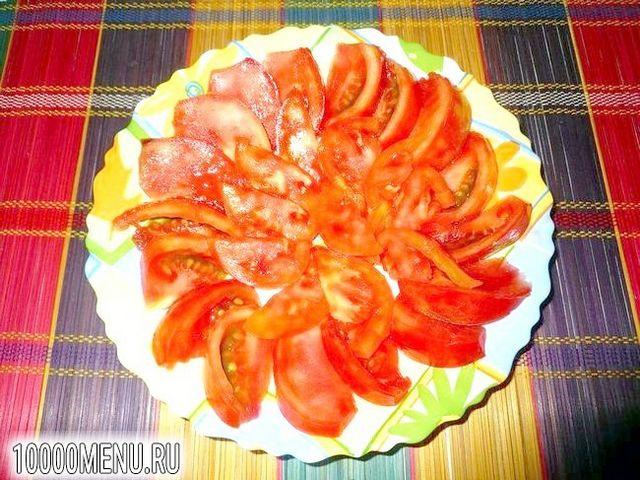 Фото - Помідорно-цибулевий салат - фото 4 кроки