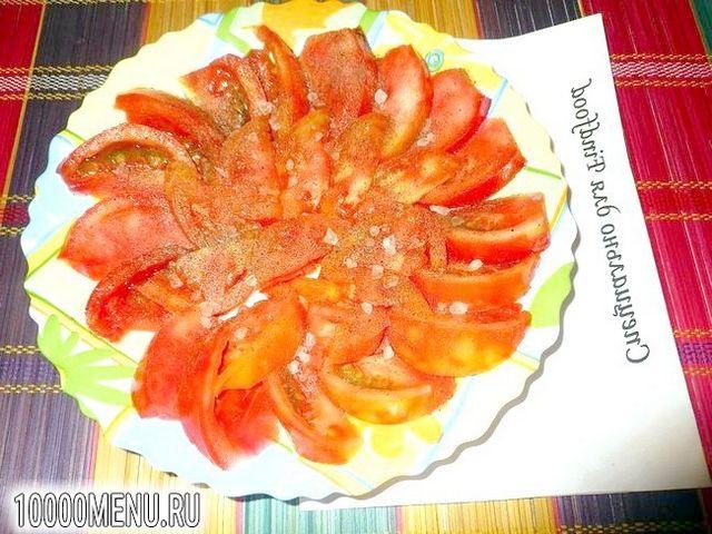 Фото - Помідорно-цибулевий салат - фото 5 кроку