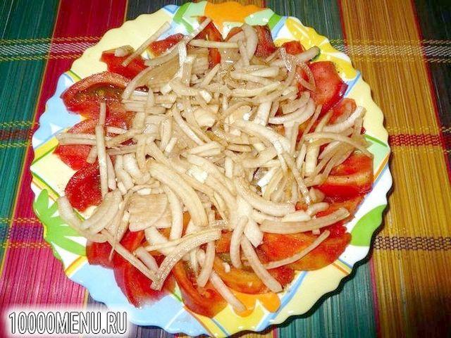 Фото - Помідорно-цибулевий салат - фото 6 кроку