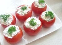 Як приготувати помідори фаршировані бринзою - рецепт