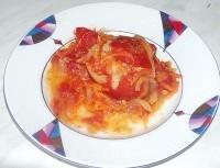 Як приготувати помідори фаршировані з підливою - рецепт
