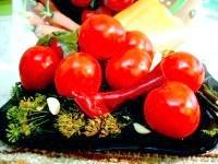 Як приготувати помідори мариновані закусочні - рецепт