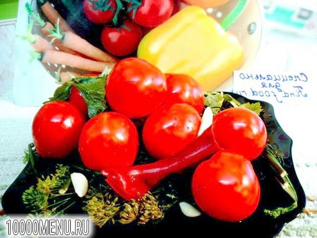Фото - Помідори мариновані закусочні - фото 6 кроку