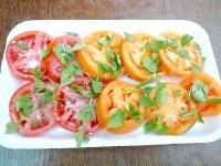 Як приготувати помідори з базиліком для піци заморожені - рецепт