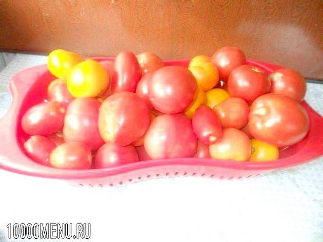 Фото - Помідори з яблуками на зиму - фото 1 кроку