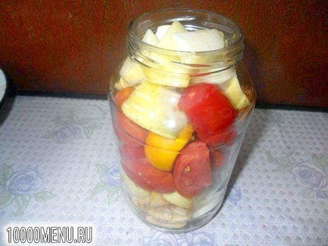 Фото - Помідори з яблуками на зиму - фото 5 кроку