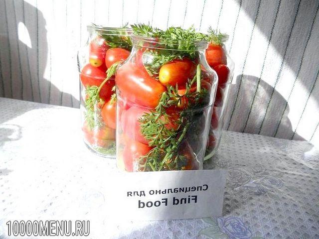Фото - Помідори з морквяної бадиллям - фото 3 кроки