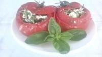 Як приготувати помідори з сирною начинкою - рецепт