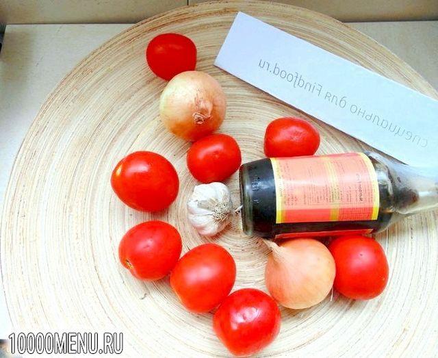 Фото - Помідори смажені по-китайськи - фото 1 кроку