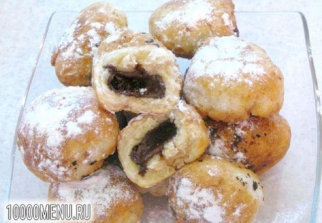 Фото - Пончики з шоколадом - фото 5 кроку
