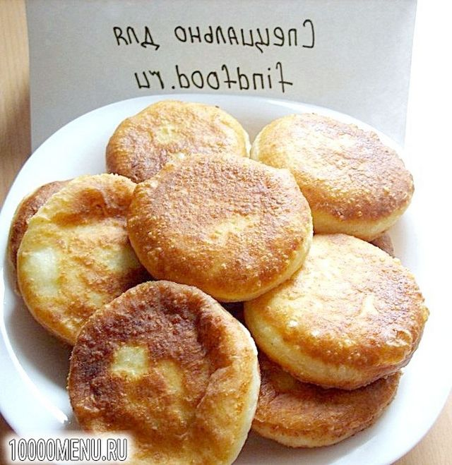 Фото - Пончики сирні з фаршем - фото 9 кроку