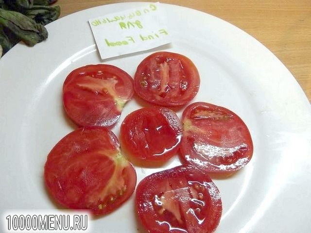 Фото - Порційний овочевий салат - фото 2 кроки