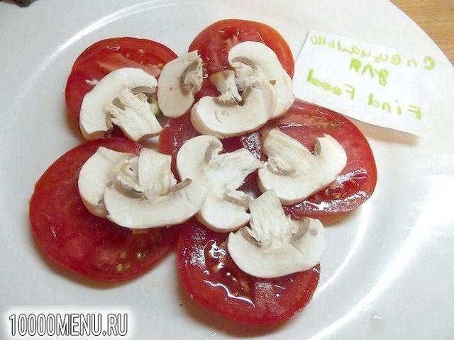 Фото - Порційний овочевий салат - фото 4 кроки