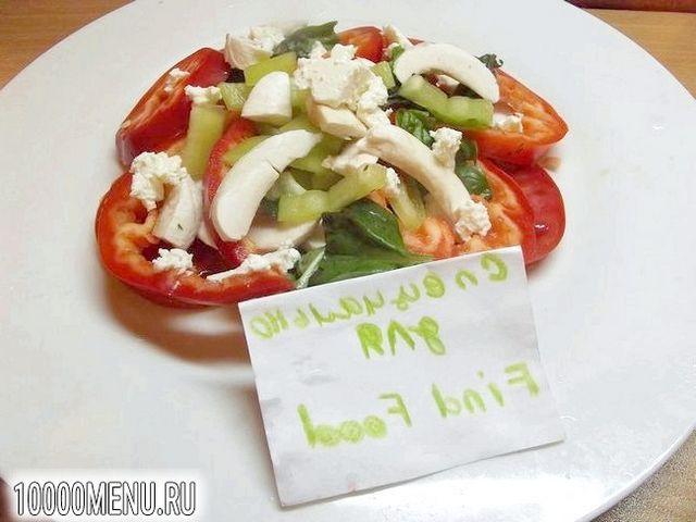 Фото - Порційний овочевий салат - фото 7 кроку