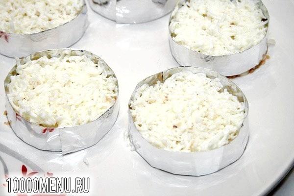 Фото - Порційний салат Мімоза - фото 5 кроку