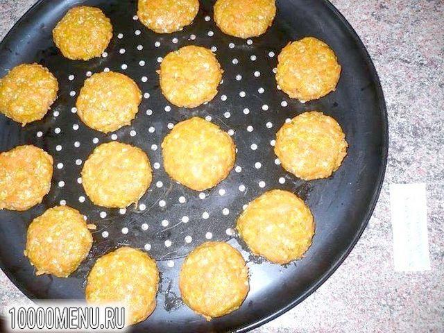 Фото - Пісне морквяне печиво - фото 5 кроку